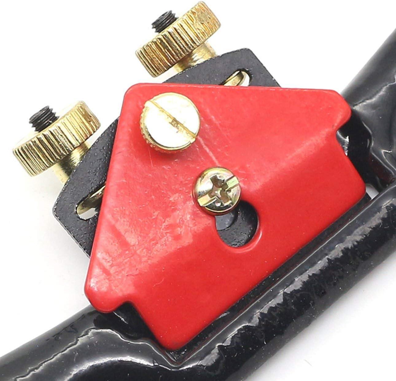 Ba30DEllylelly 9// 215 mm regolabile per la lavorazione del legno a mano pialla a vite pialla per rasatura tagliente in legno per attrezzi manuali da falegname