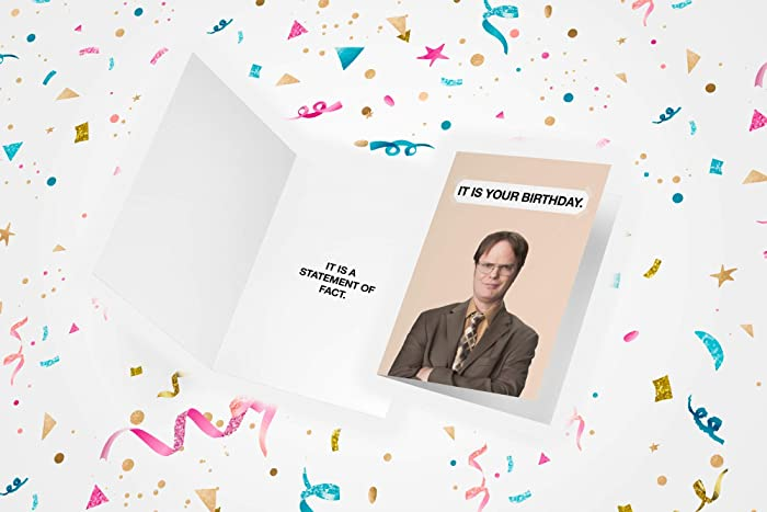 The Office Birthday Card With Dwight Business Amazonca Handmade