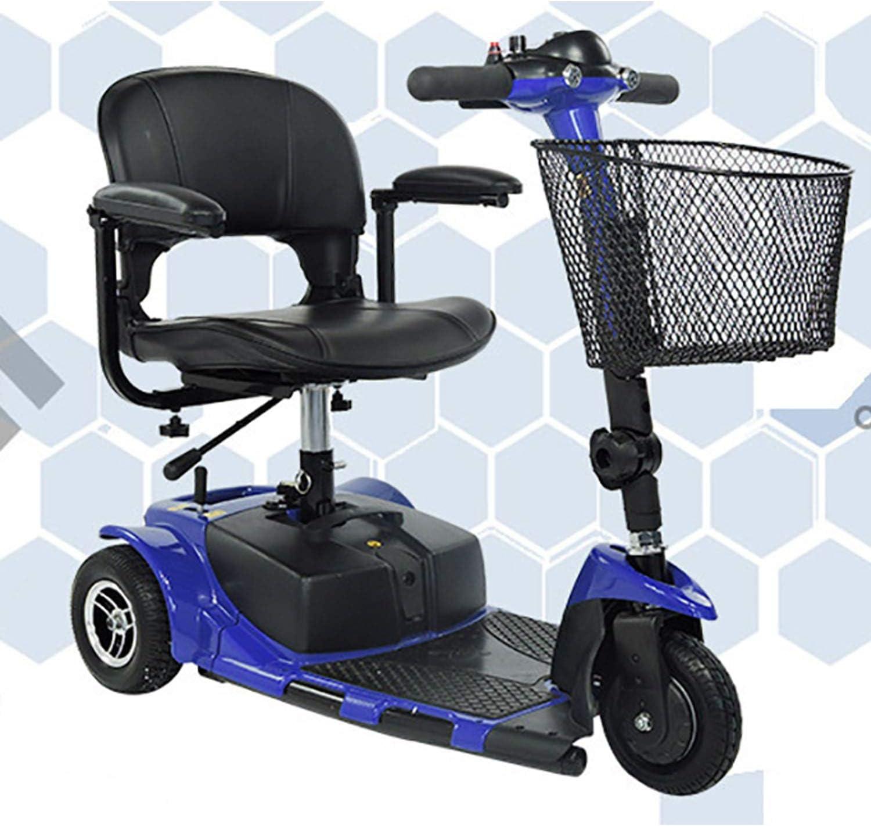 wyingj Viejo Scooter Eléctrico De Tres Ruedas