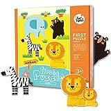Jar Melo Primo Puzzle; Fauna Selvatica; 18 Pezzi; Grandi Puzzle Per I Bambini; Puzzle; Creativo; Per I Bambini Di Età Superiore Ai 2 Anni;