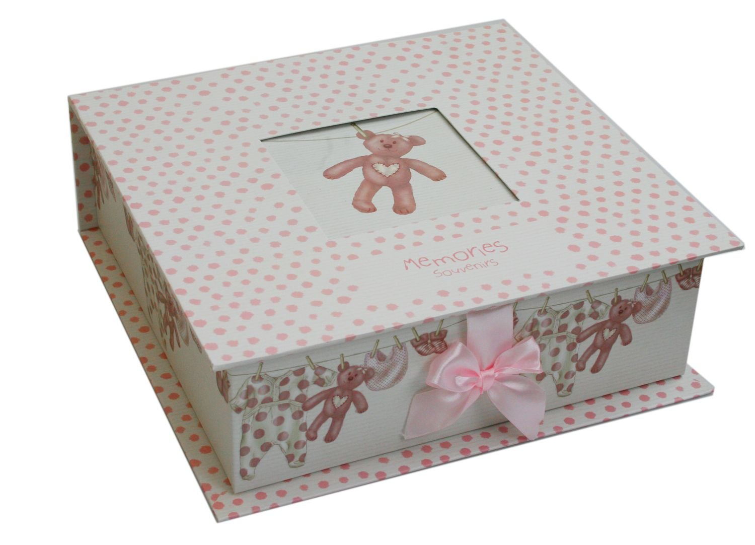 New Baby Keepsake Memory Box ~ Pink Baby Girl Keepsake Storage Box Amazon.co.uk Kitchen u0026 Home  sc 1 st  Amazon UK : keepsake box baby - Aboutintivar.Com