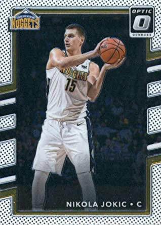2017-18 Donruss Optic #37 Nikola Jokic Denver Nuggets Basketball Card