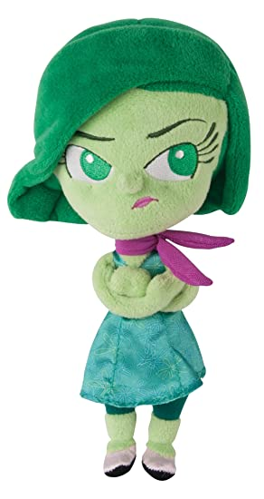 Tomy Disney Pixar Inside Out la película – 8 pulgadas Soft Plush Toy figura – Disgust