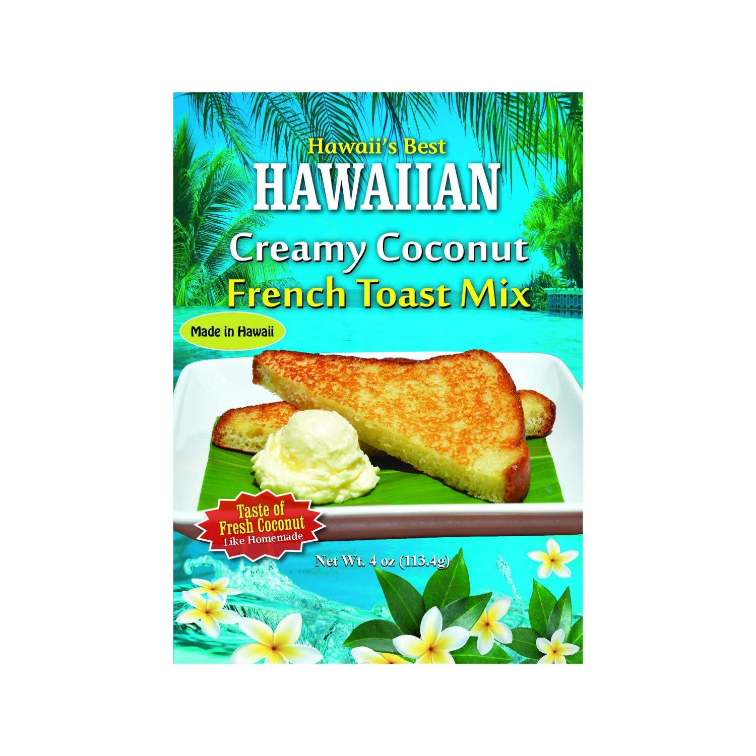Hawaii's Best Hawaiian Creamy Coconut French Toast Mix