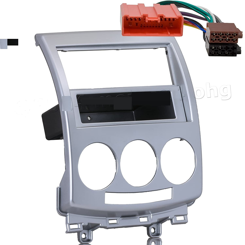 Kit Adaptateur autoradio MAZDA 5 silver 1 DIN +ISO KINDVOX