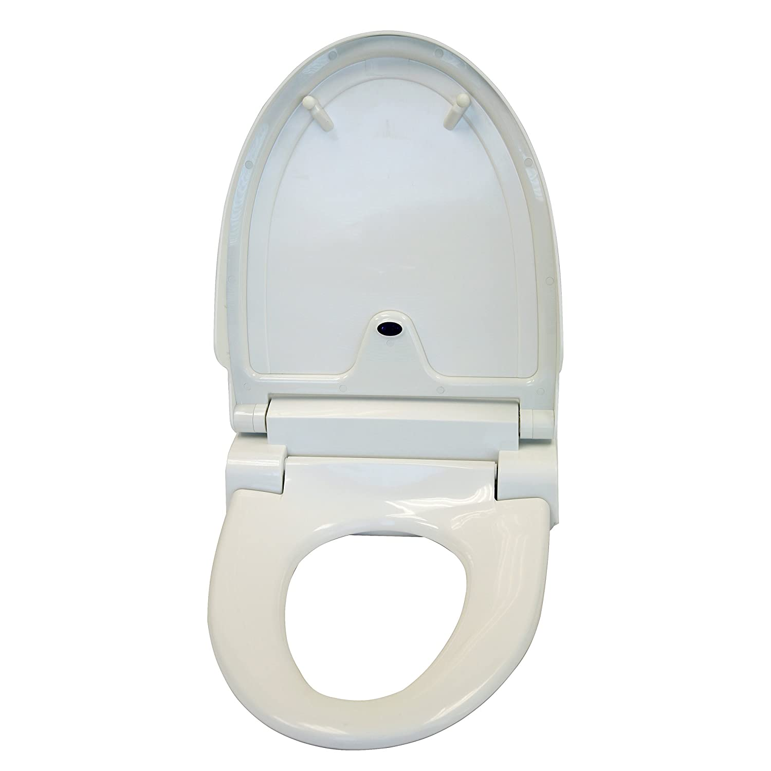 self opening toilet seat. Amazon com  iTouchless Touch Free Sensor Controlled Automatic Toilet Seat Elongated Model Off White Home Kitchen