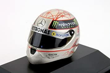 Réplica 1:8 Casco Michael Schumacher Mercedes 2012 300GP F1