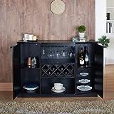 Amazon Com Winsome 3 Piece Ancona Wine Cabinet Modular