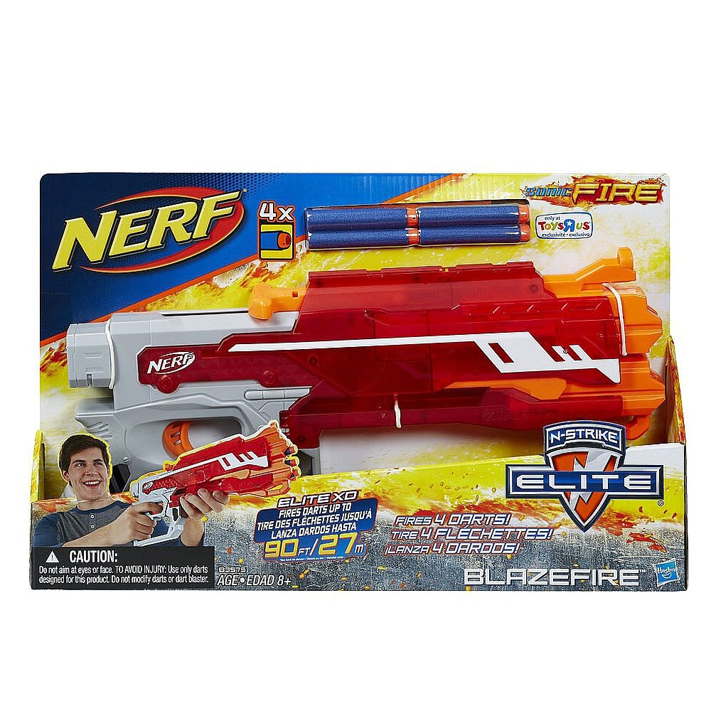 Nerf N-Strike Elite XD Sonic Fire Blazefire Exclusive