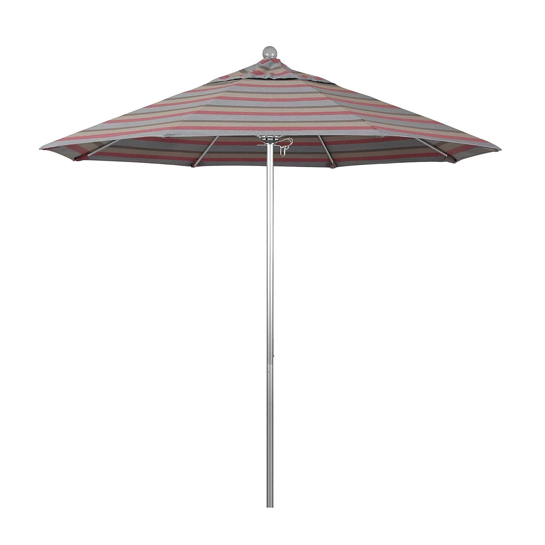 Amazon.com: Paraguas California redondo de aluminio y fibra ...