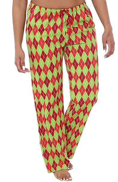 074a086bc0 Alexander Del Rossa Womens Flannel Pajama Pants