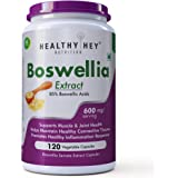 Healthyhey Nutrition Boswellia Serrata Extract 600 Mg - 120 Vegetable Capsules (120 Caps)