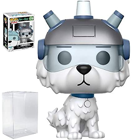 Amazon.com: Funko POP. Animation: Rick y Morty bola de nieve ...