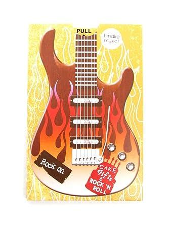 Geburtstagskarte Soundkarte Mit Rockiger Geburtstags Musik Amazon