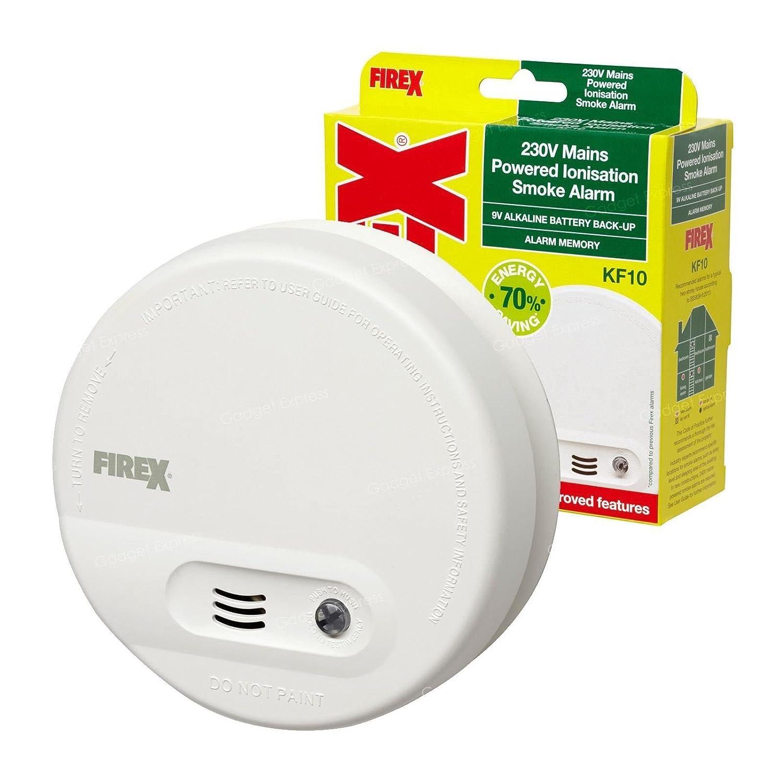 EN14604 8 x Smoke Detector Incl Battery Fire Alarm