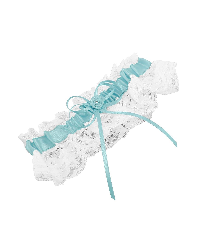 Weddingstar Bridal Toss Garter, Aqua Blue Weddingstar Inc. 7220-33