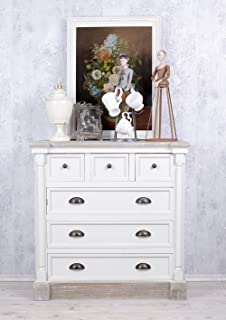 KOMMODE SHABBY CHIC ALTWEISS FRENCH FURNITURE VINTAGE MÖBEL ...