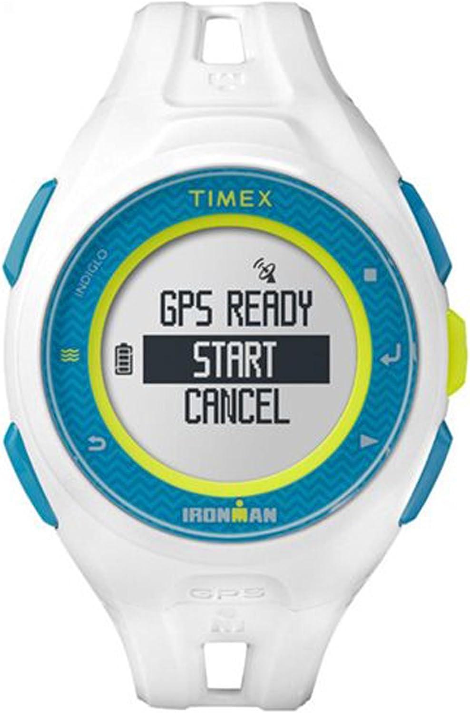 Timex tw5K95300Run x20blanco Digital GPS Ironman