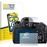 BROTECT AirGlass Pellicola Vetro Flessibile per Canon EOS 77D Pellicola Prottetiva - Durezza 9H