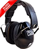 Edz Kidz Ear Defenders (Jet Black Gloss)