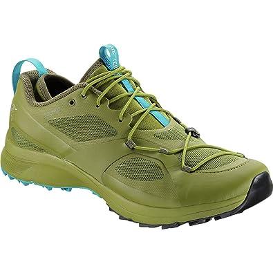 Arc'teryx Norvan VT GTX Trail Running Shoe - Men's Carmanah/Hydra Blue,