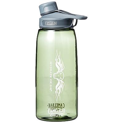 """'CamelBak Chute 1L Bouteille d'eau avec """"Hydrate or Die Logo"""