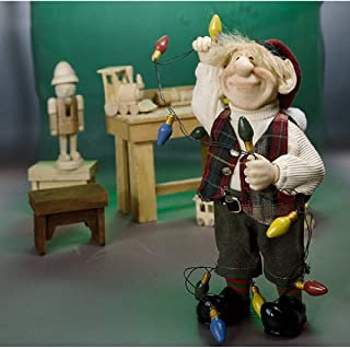 """product image for Zims 10.5"""" The Elves Themselves Albert Collectible Christmas Elf Figure"""