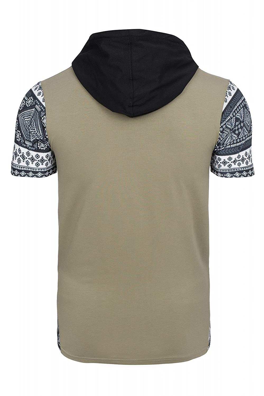 Cipo & Baxx Hooded Tee Shirt Herren T-Shirt Freizeitshirt Grün mit Kapuze:  Amazon.de: Bekleidung