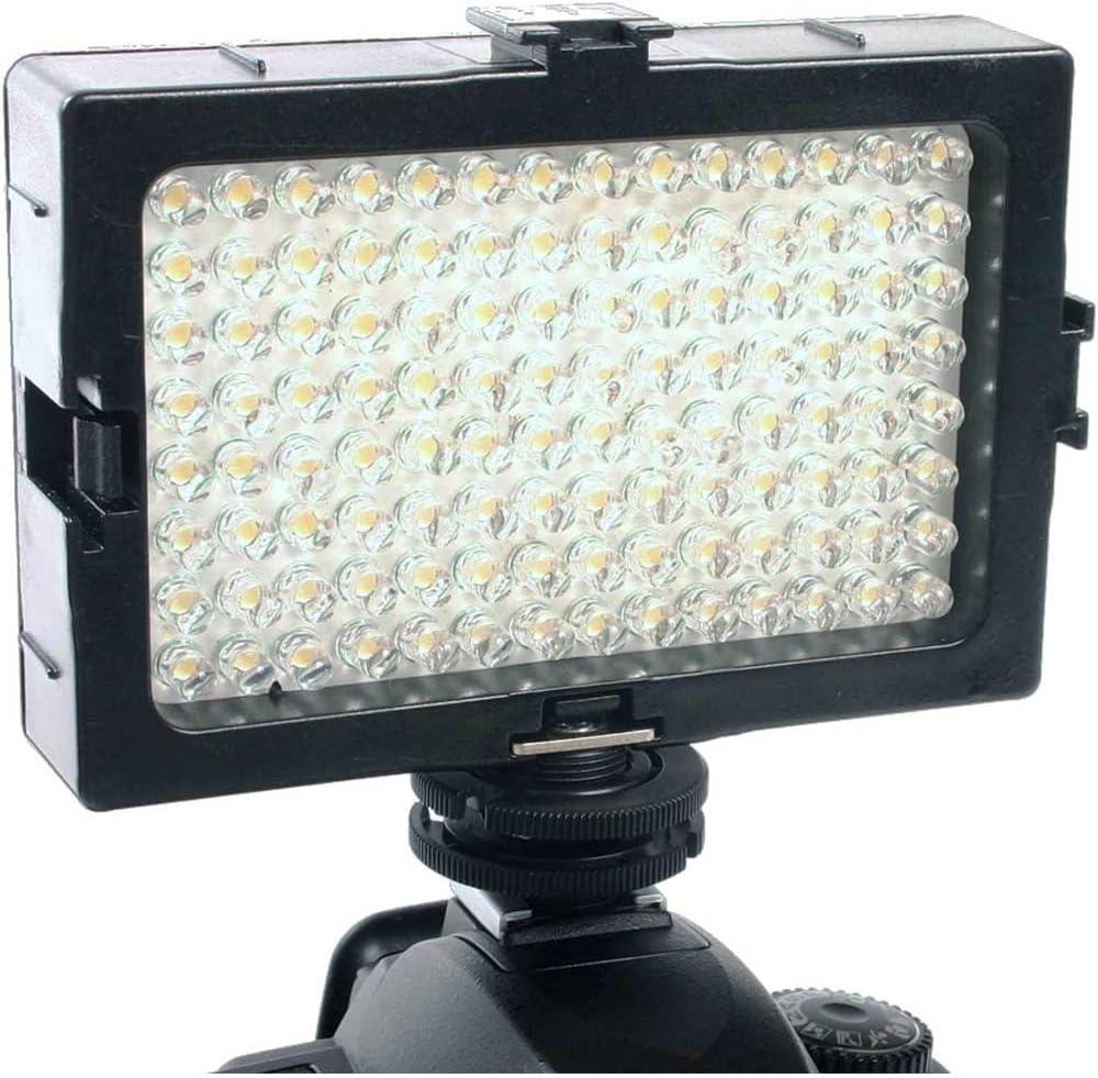 DLC DV112A Video /& DSLR AA /& Li-ion LED Light Kit with Variable Light Output