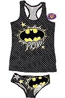 """Juniors Batgirl """"POW"""" Tank and Hipster Set"""