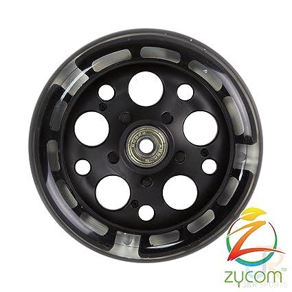 Zycom - Rueda de patinete que se ilumina, 125 mm (unidad)