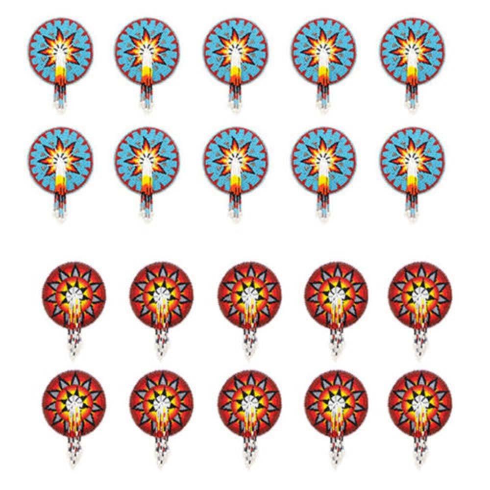 La vivia Star Beadwork Barrette Hair Clip Red Blue Wholesale Lot at Lowest Price 20 Pc