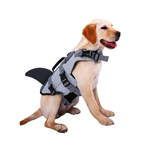 New Safety Summer Pet Dog Swimwear Vest Life Jacket For Dogs Clothes Labrador Clothes Pet Swimsuit Pet Dog Coats Jackets Pet Products Cat Supplies