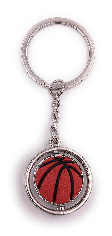 H-Customs Balón de baloncesto redondo con colgante de bolso ...