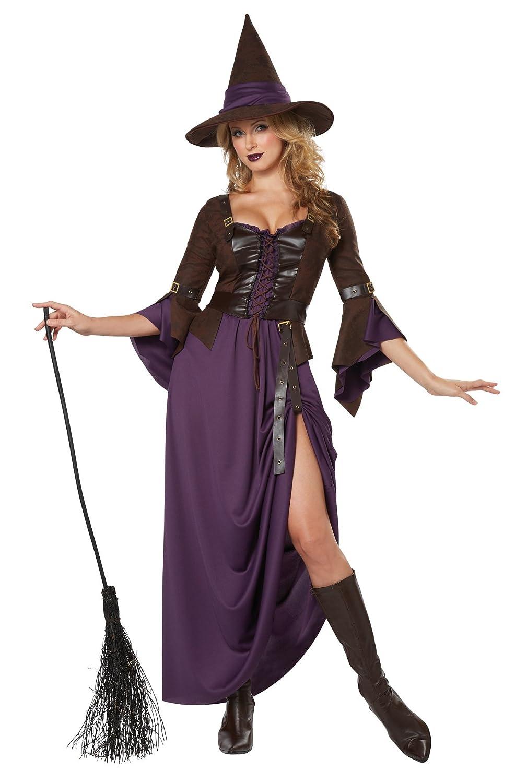 California Costume Déguisement Adulte Costume de sorcière de Salem