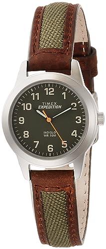 a81dc7f8c5 Amazon | [タイメックス]TIMEX フィールドミニ グリーン TW4B12000 ...