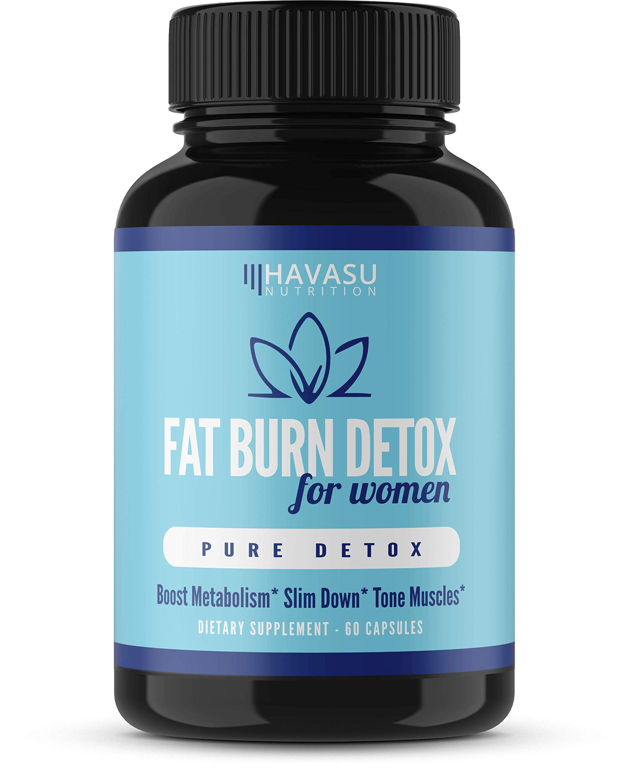 Havasu Nutrition Women's Fat Burner - Womens Keto Fat Burn Detox - Weight Loss Pills Designed for Optimizing Weight Loss & Increasing Energy Levels, Fat Loss, and Muscle Tone, Non-GMO, 60 Capsules