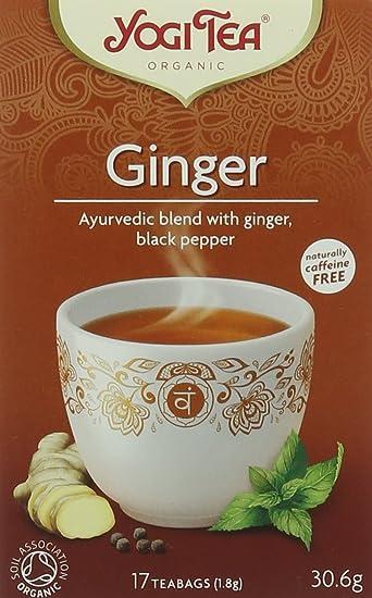 Amazon.com : Yogi Tea - Ginger - 30.6g : Grocery & Gourmet Food