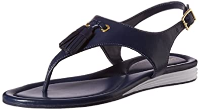 Cole Haan Womens Rona Grand Flat Sandal Black Size 70