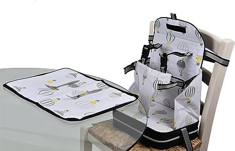 Baby Polar Gear - Juego de asiento y mantel individual con arnés ...