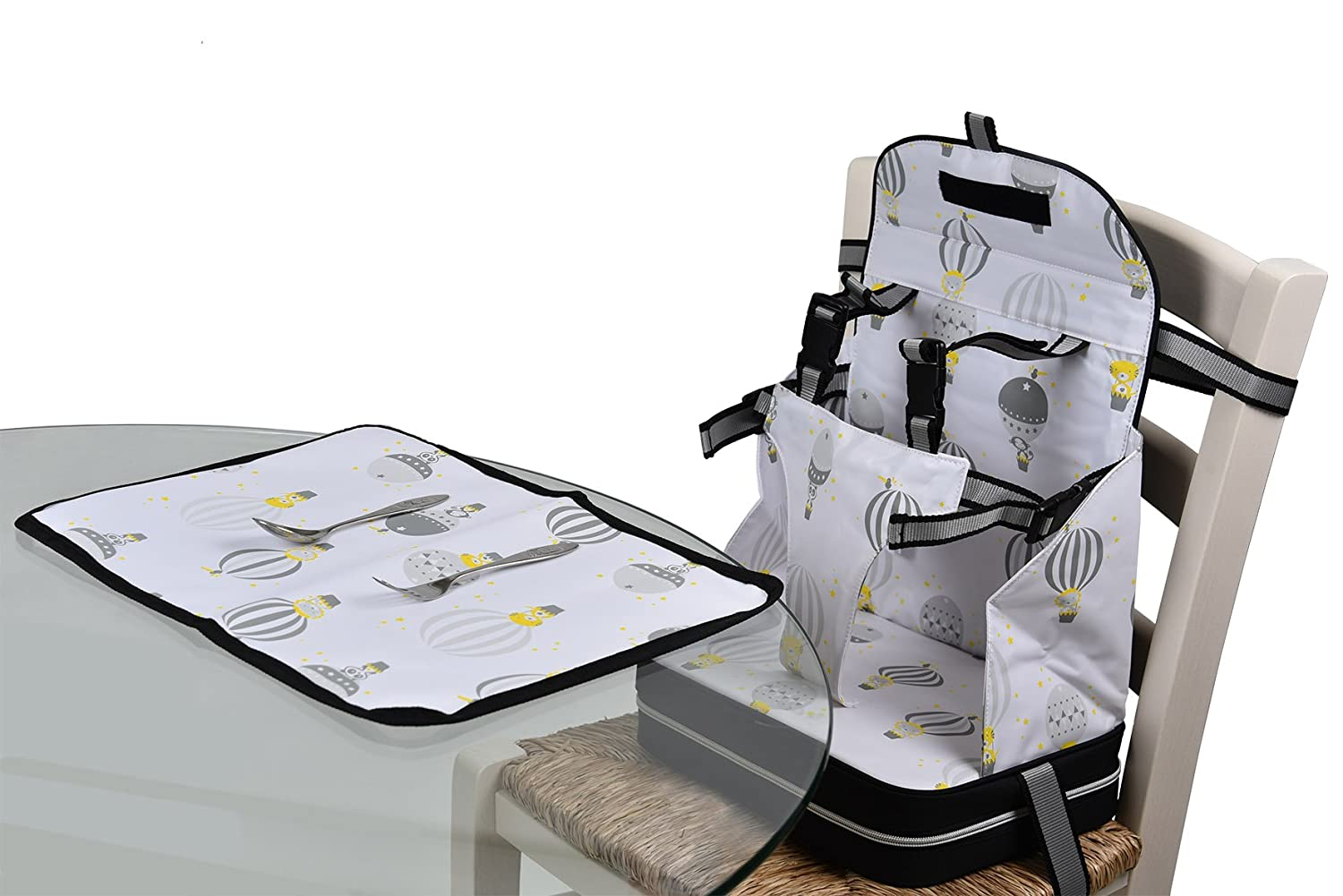 Baby Polar Gear Go Anywhere 5 Point Harness Booster Seat Set with Place Mat DNC UK Ltd
