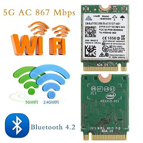 Tribanda Bluetooth 4.1 M.2 clave WIFI AC tarjeta 867 M para ...
