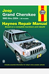 Jeep Grand Cherokee 1993 thru 2004 Haynes Repair Manual: All Models Paperback