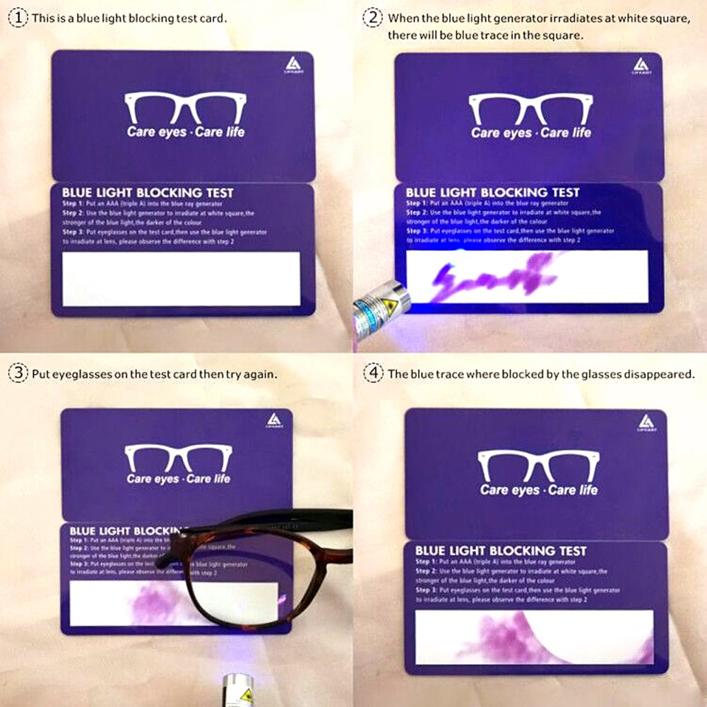 LifeArt Blue Light Blocking Glasses,Cut UV400 Transparent Lens,Computer Reading Glasses,Anti Eyestrain/Anti Scratch/Anti Smudgy,Sleep Better for Women/Men(LA_Days_Tortoise,0.00,No Magnification) by LifeArt (Image #7)