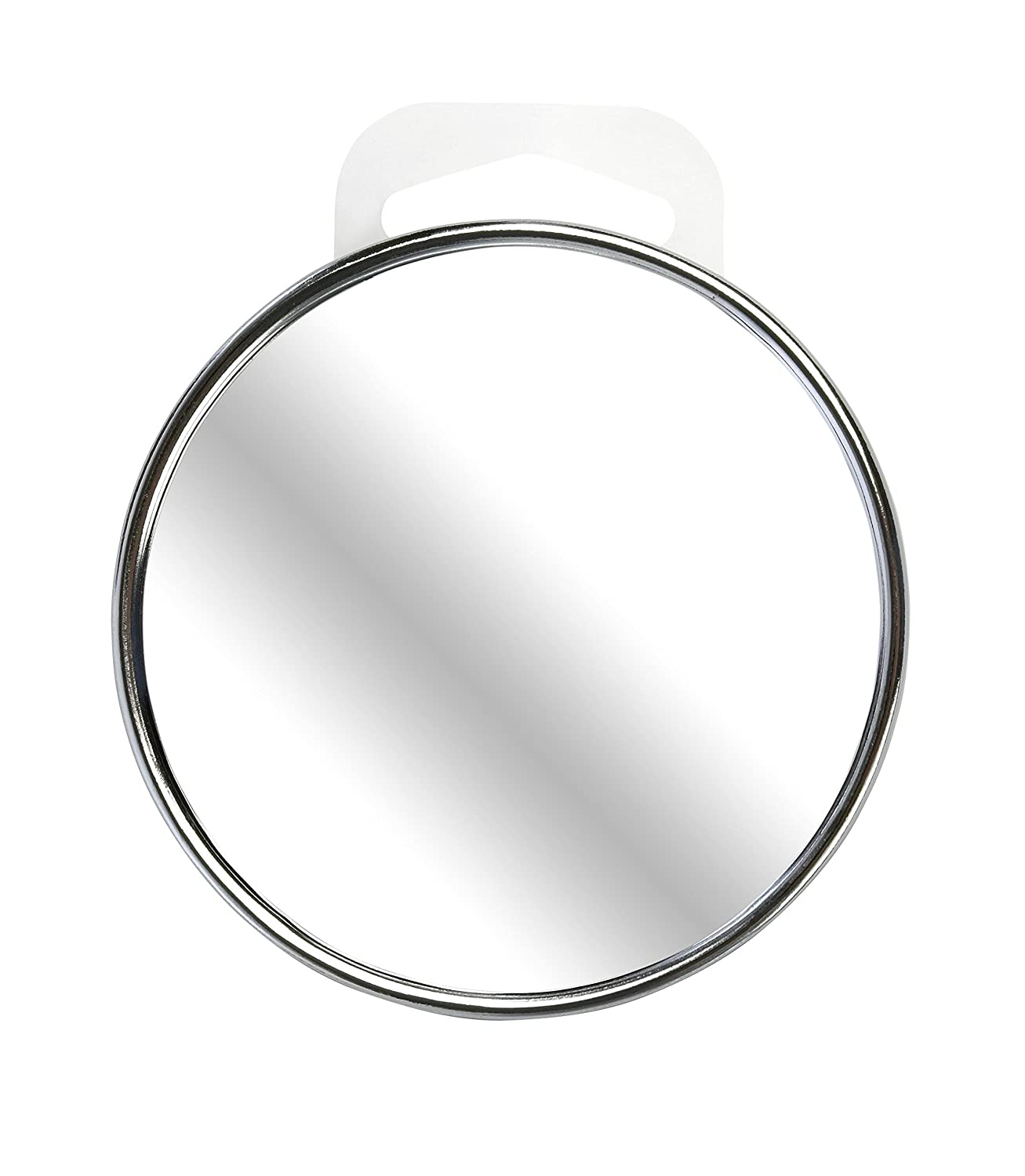 Beter Look Chrome Mirror with suction cup and 10x magnification, 9 cm