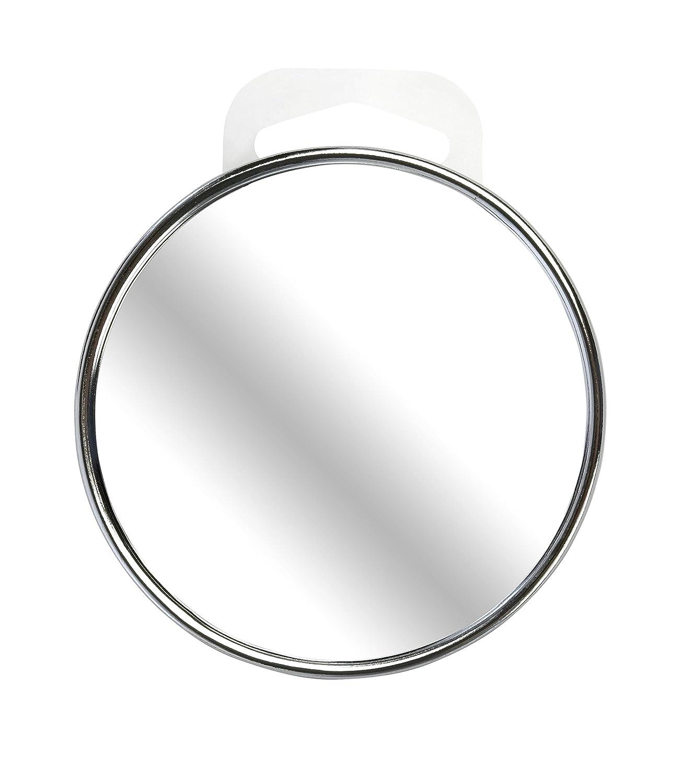 Beter Look - Spiegel, verchromt, mit Saugnapf, 10-fache Vergrößerung, 9 cm