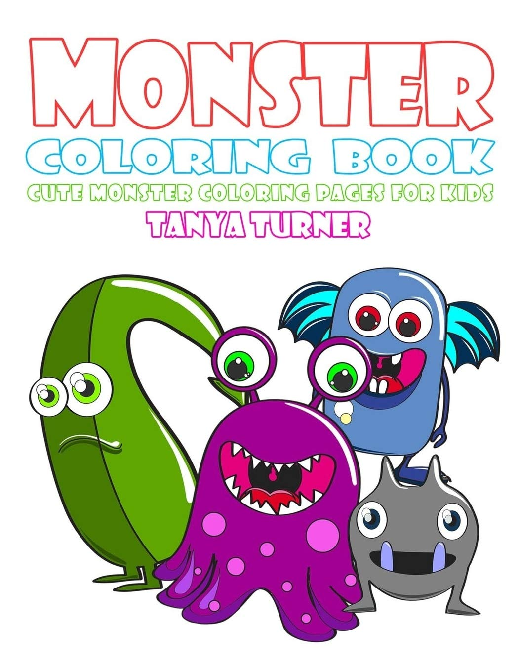Free Printable Monster Coloring Pages Online | 1360x1051