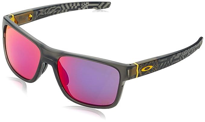 Oakley Crossrange, Gafas de sol para Hombre, Gris, 57