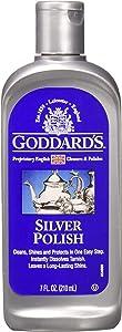 Goddard's Silver Polish Liquid, 7-oz Tarnish Remover