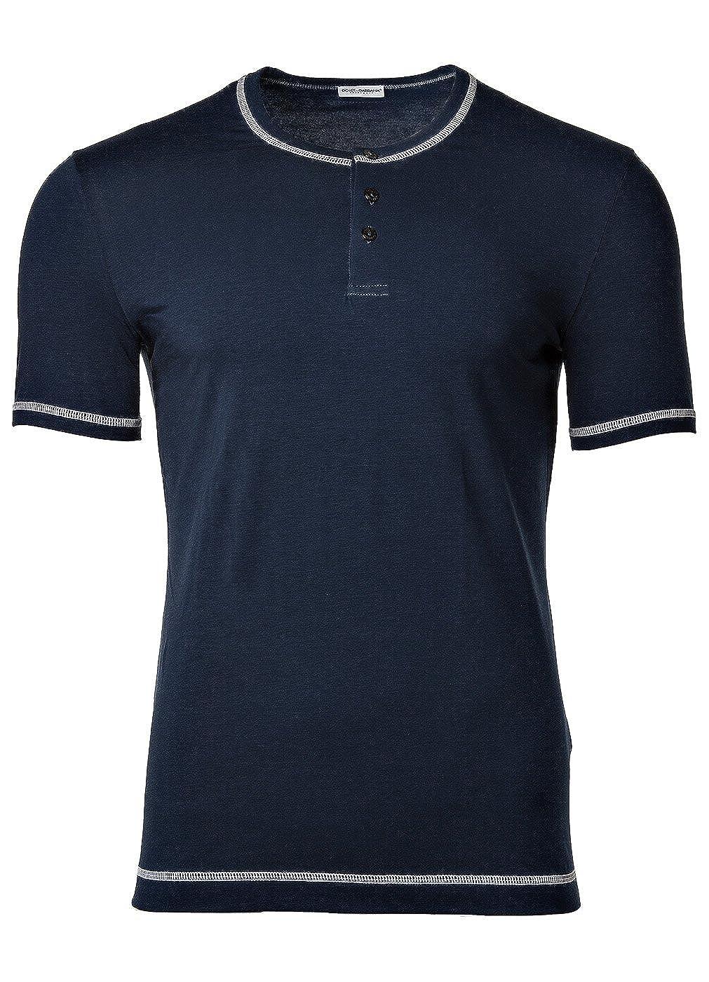 Dolce & Gabbana La Camiseta Ropa Interior Hombre Serafino, D & G S-XL - Azul Marino o Blanco: Colour: Dark Blue   Size: X-Large: Amazon.es: Ropa y ...